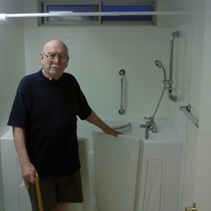 A Rancho Walk in Tub Customer