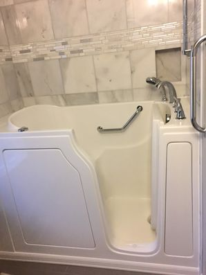 Accessible Bathtub Installation by Independent Home Products, LLC